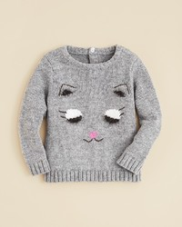 Bloomies Girls Cat Sweater Sizes 2 4t