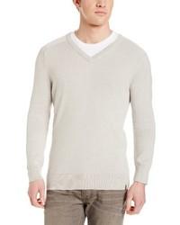 Calvin Klein Chevron Tipped Sweater