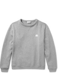 Acne Studios Fint Fleece Back Cotton Jersey Sweatshirt