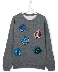 Kenzo Kids Multi Icon Patch Sweatshirt