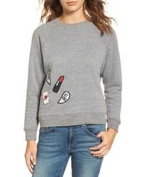 Rebecca Minkoff Patch Sweatshirt