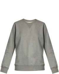 Valentino Rockstud Untitled 8 Cotton Blend Sweatshirt