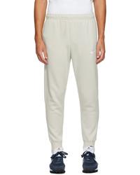 Nike Beige Fleece Sportswear Club Lounge Pants