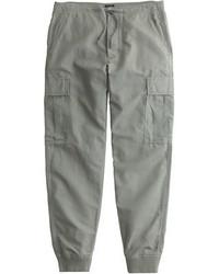 J.Crew Cargo Jogger Pant In Cotton Linen