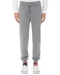 Thom Browne Cashmere Jogger Pants Grey