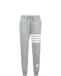 Thom Browne Classic Sweatpants In Classic Loop Back With Engineered 4 Bar
