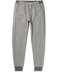 J.Crew Classic Tapered Fleece Back Cotton Blend Jersey Sweatpants