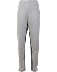 Prada Contrast Stripe Sweatpants