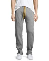 Moncler Cotton Sweatpants Wyellow Accents