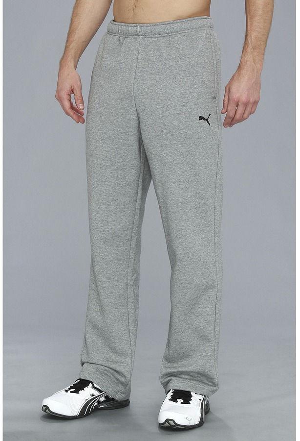 1a440e767694 ... Puma Essential Fleece Sweat Pant Open ...
