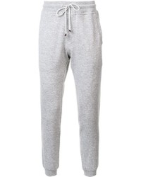 Brunello Cucinelli Gathered Ankle Track Pants