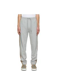 Burberry Grey Check Lounge Pants