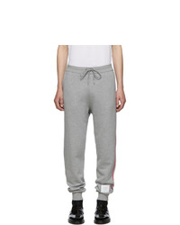 Thom Browne Grey Classic Loopback Lounge Pants