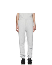 Essentials Grey Fleece Lounge Pants