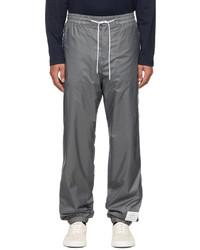 Thom Browne Grey Flyweight Piping Lounge Pants