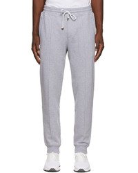 Brunello Cucinelli Grey French Terry Lounge Pants