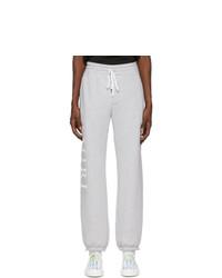 Amiri Grey Large Logo Lounge Pants