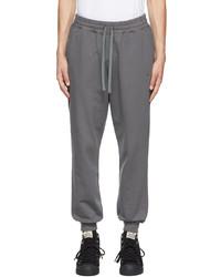 Vivienne Westwood Grey Logo Classic Lounge Pants