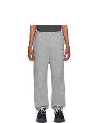 Balenciaga Grey Logo Lounge Pants