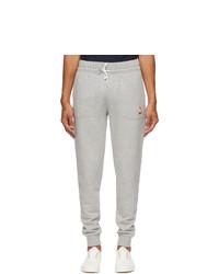 MAISON KITSUNÉ Grey Lotus Fox Jog Lounge Pants