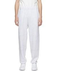 Lady White Co Grey Paneled Lounge Pants