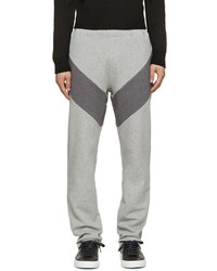 Givenchy Grey Panelled Lounge Pants