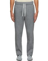 Ermenegildo Zegna Grey Reconnect Mono Lounge Pants