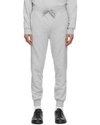 Ermenegildo Zegna Grey Ribbed Cuff Lounge Pants