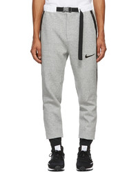 Nike Grey Sacai Edition Jersey Lounge Pants
