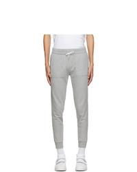 MAISON KITSUNÉ Grey Tricolor Fox Classic Lounge Pants