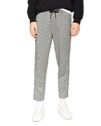 Topman Marc Check Crop Track Pants