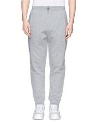 McQ by Alexander McQueen Mcq Alexander Mcqueen Expandable Side Zip French Terry Sweatpants