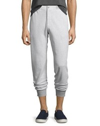 Michael Kors Michl Kors Tailored Birdseye Jogger Pants Gray