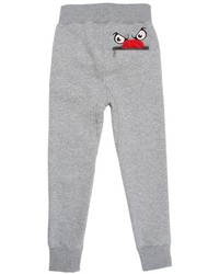 Molo Cotton Jogging Pants With Eyes