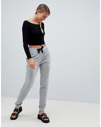 Only Mouse Pearl Applique Joggers