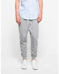 Shades of Grey Drop Crotch Sweatpant