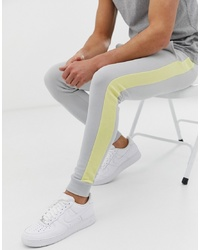 ASOS DESIGN Skinny Joggers With In Grey