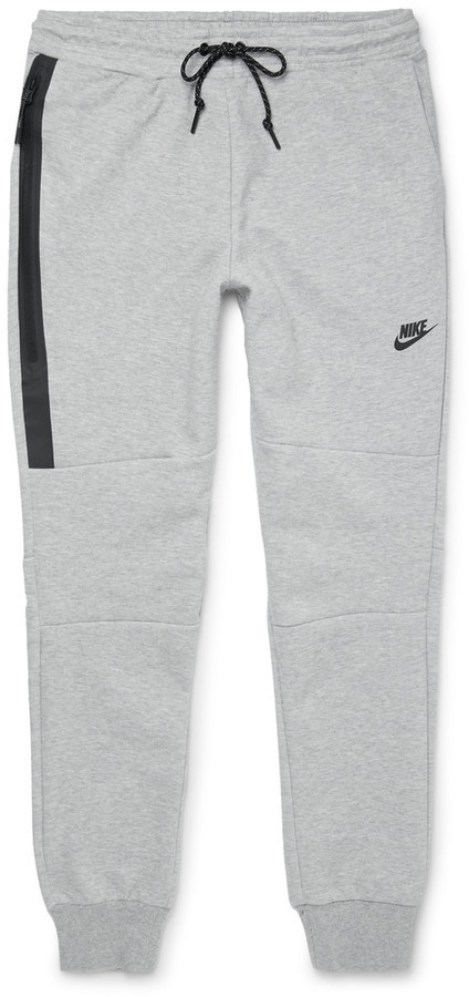 Free Shipping Websites Slim-fit Cotton-blend Tech Fleece Sweatpants Nike Best Place Online Cheap Price Fake Free Shipping Amazing Price o128J