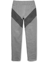 Givenchy Slim Fit Panelled Loopback Cotton Jersey Sweatpants