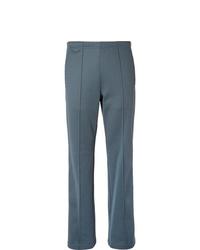 Maison Margiela Slim Fit Satin Trimmed Tech Jersey Track Pants