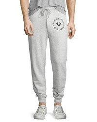 Slim fit sweatpants heather gray medium 1149299