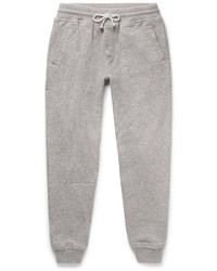 Brunello Cucinelli Slim Fit Tapered Cashmere Blend Sweatpants