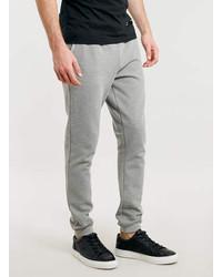 Topman Mid Grey Textured Skinny Joggers