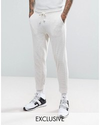 Puma Waffle Joggers In Gray To Asos