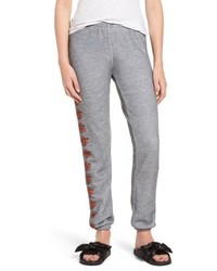 Wildfox bouquet knox sweatpants medium 5264912