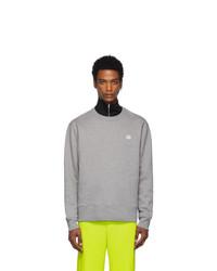 Acne Studios Acne S Grey Fairview Face Sweatshirt