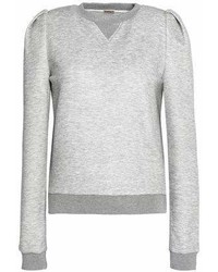ADAM by Adam Lippes Adam Lippes Mlange Stretch Jersey Sweatshirt