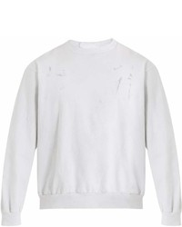 Audrey Louise Reynolds Crew Neck Cotton Jersey Sweatshirt
