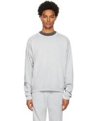 John Elliott Blue Cross Thermal Sweatshirt