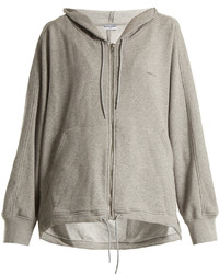 Balenciaga Cocoon Zip Up Hooded Sweatshirt